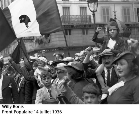 Willy Ronis : 14 juillet